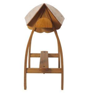 Monturero o borriquete de madera